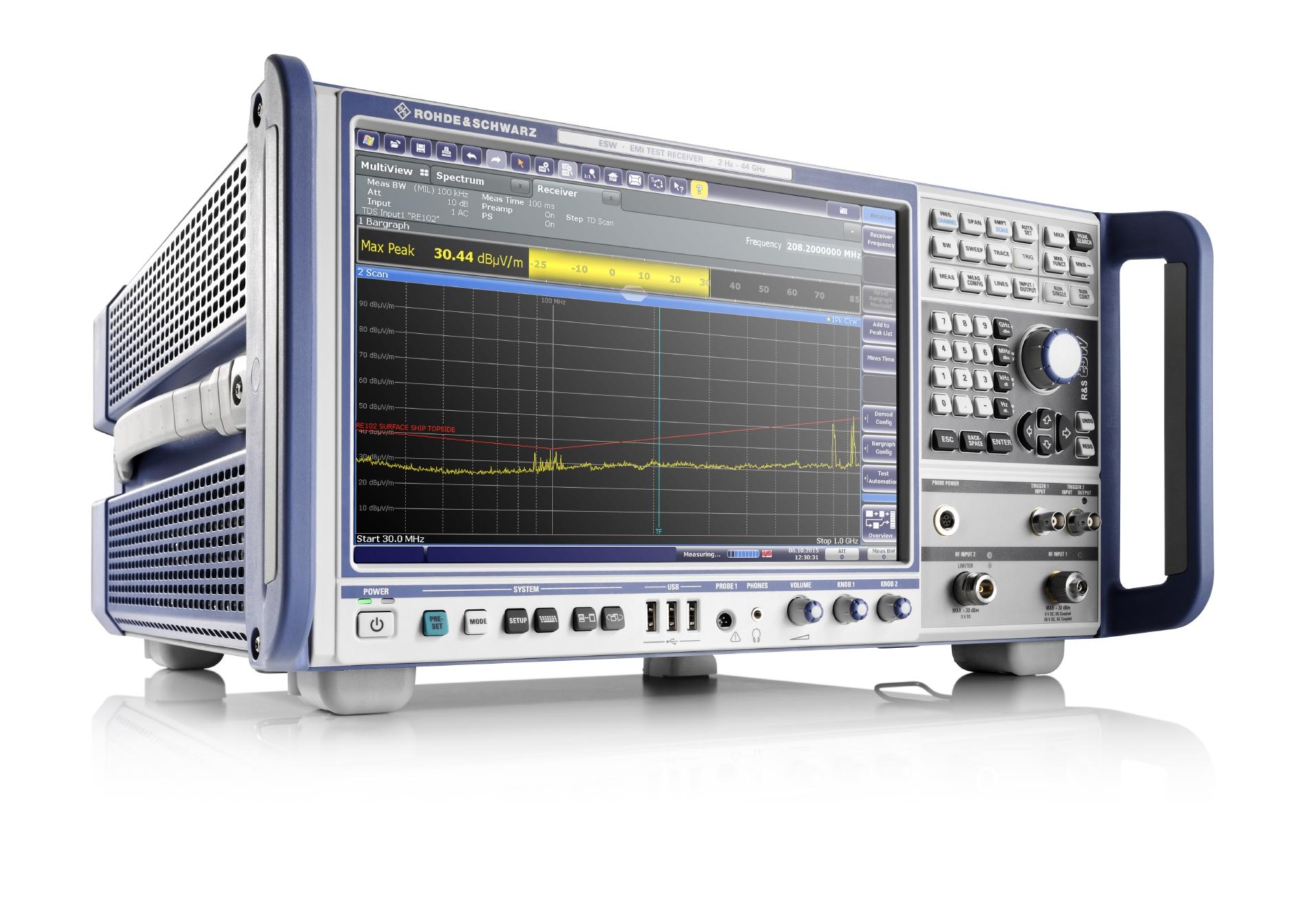 EMC計測システムのイメージ